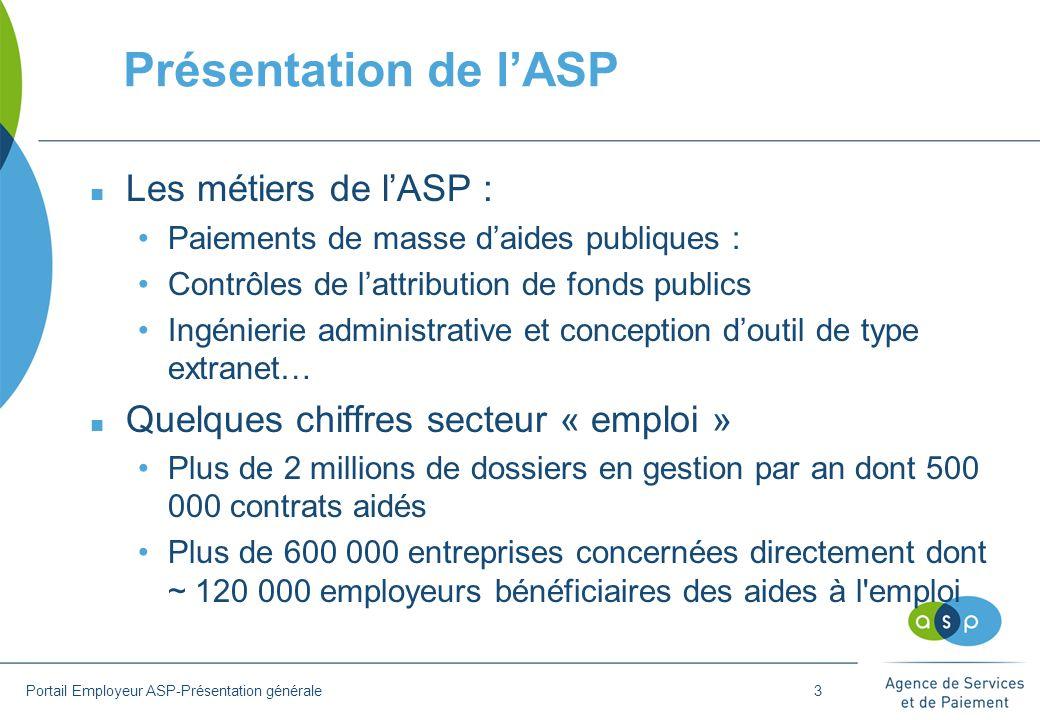 Présentation de l'ASP n Les métiers de l'ASP : Paiements de masse d'aides publiques : Contrôles de l'attribution de fonds publics Ingénierie administr