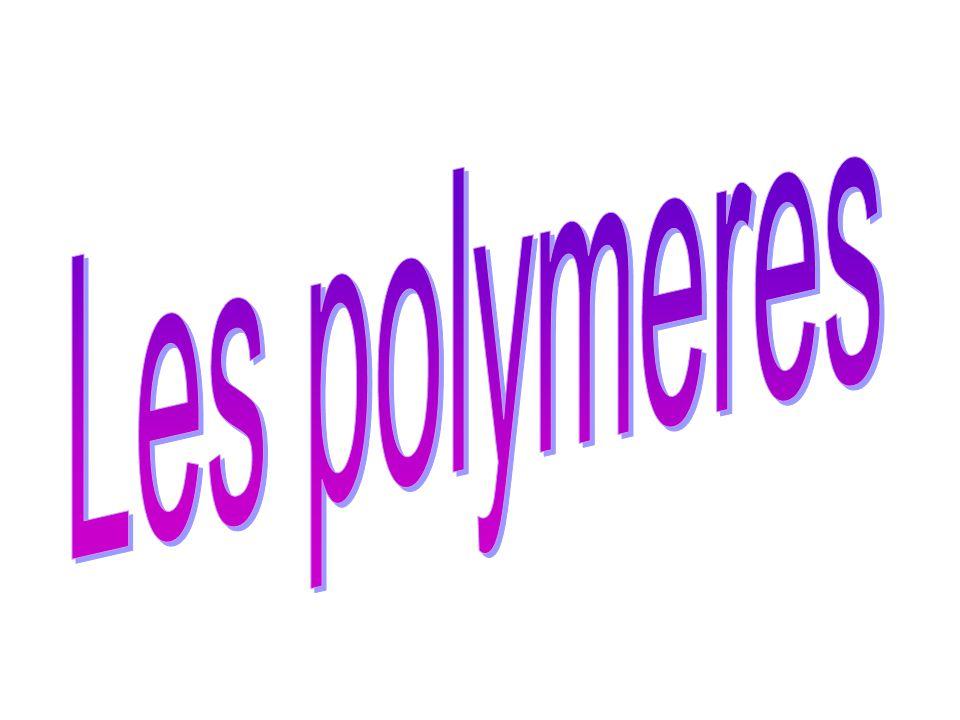 Polymérisation par étapes Exemple de polycondensation
