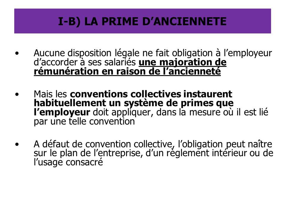III) LES CONGES PAYES EN FRANCE Tout salarié a droit, en contrepartie de son activité professionnelle, a un congé payé de 5 semaines, à raison de 2,5 jours ouvrables par mois de travail effectif