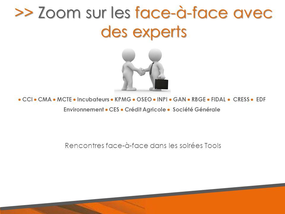  CCI  CMA  MCTE  Incubateurs  KPMG  OSEO  INPI  GAN  RBGE  FIDAL  CRESS  EDF Environnement  CES  Crédit Agricole  Société Générale >> Z