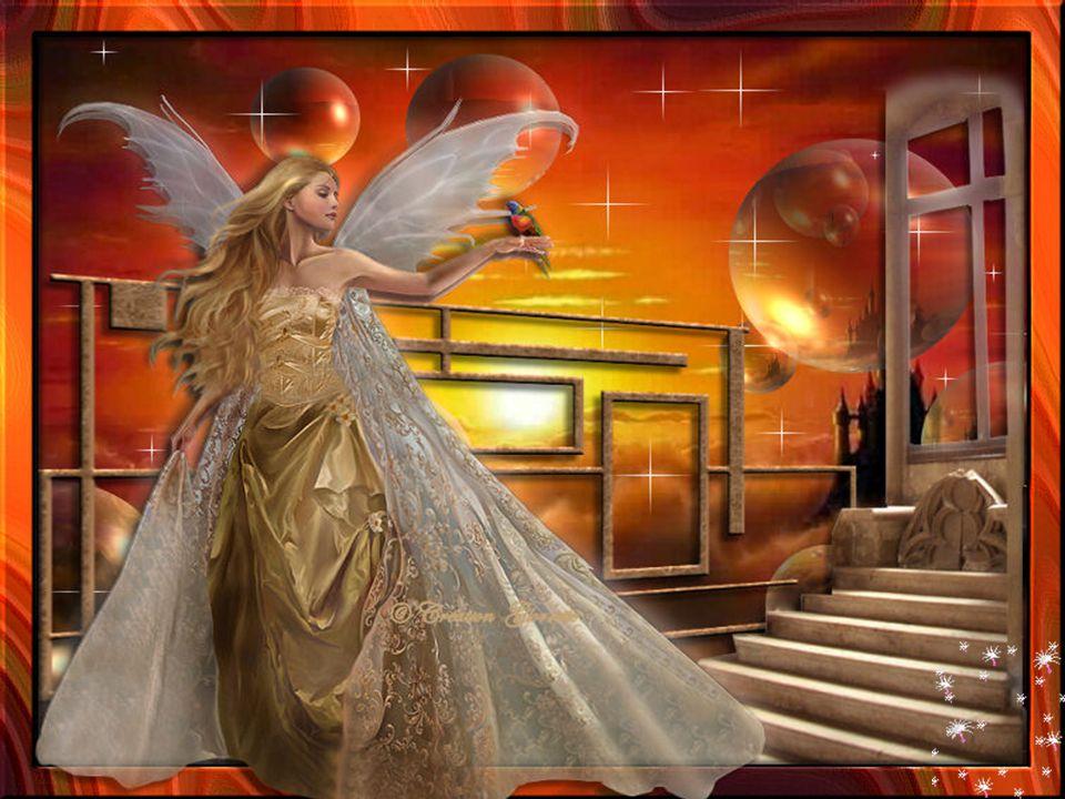 Ils sont là le soir quand on s'endort Les anges sont aussi multicolores Dans notre cœur ils déposent des fleurs Ils veillent sur nous avec douceur … Ginette