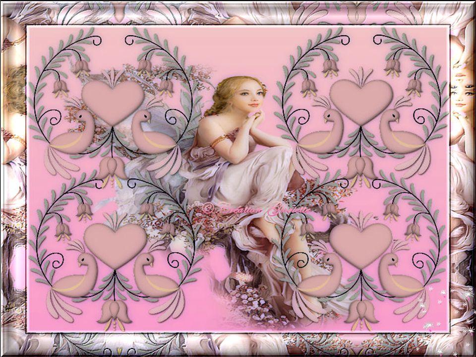 Un ange arrive une nuit d'enfance Avec le pas léger et la voix qui chante Un ange c'est l'âme de nos rêves Pour un ange il n'y a jamais de trêve… Ginette