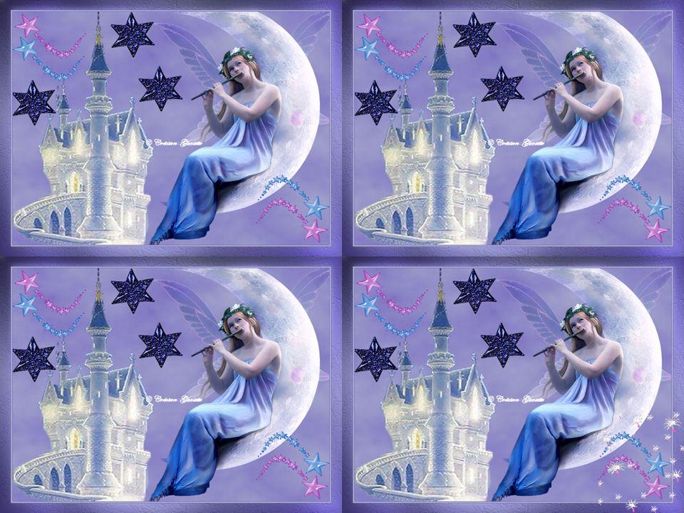 Un ange c'est la splendeur des étoiles Ça chante des mots d'amour sans voile D'un cœur frêle l'ange peut retenir Nos chagrins et tous nos soupirs … Ginette