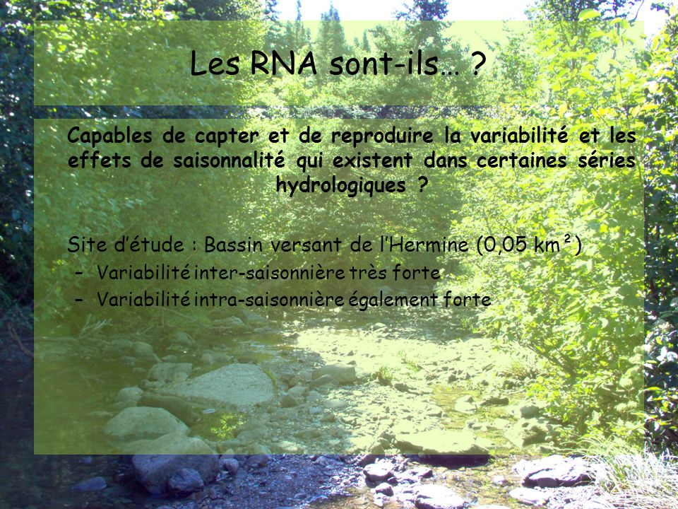 CONSTRUIRE LE RNA LES ÉTAPES
