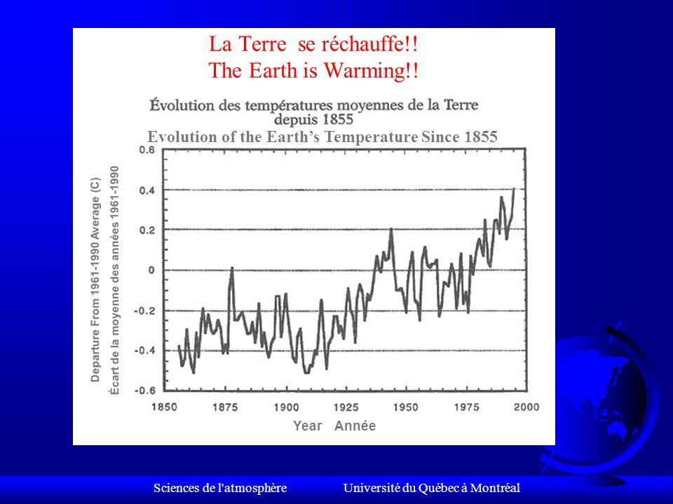 Sciences de l atmosphère Université du Québec à Montréal Le Climat, se déchaîne-t-il.