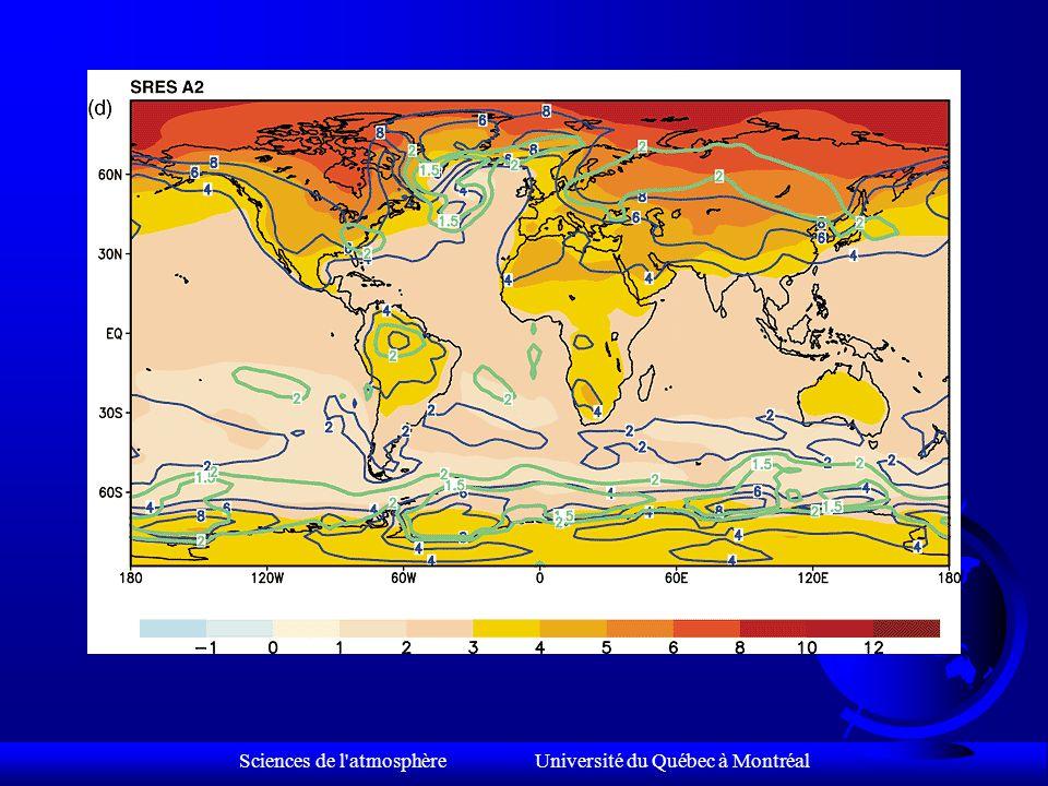 Sciences de l atmosphère Université du Québec à Montréal TEMPÉRATURE