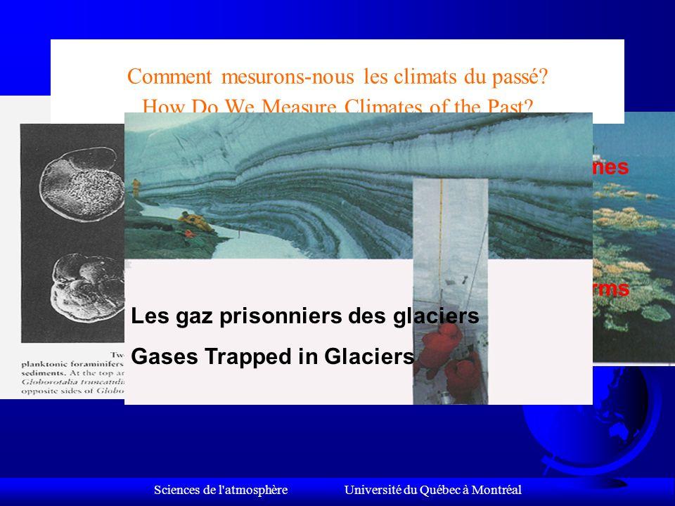 Sciences de l atmosphère Université du Québec à Montréal Que devrions-nous faire.