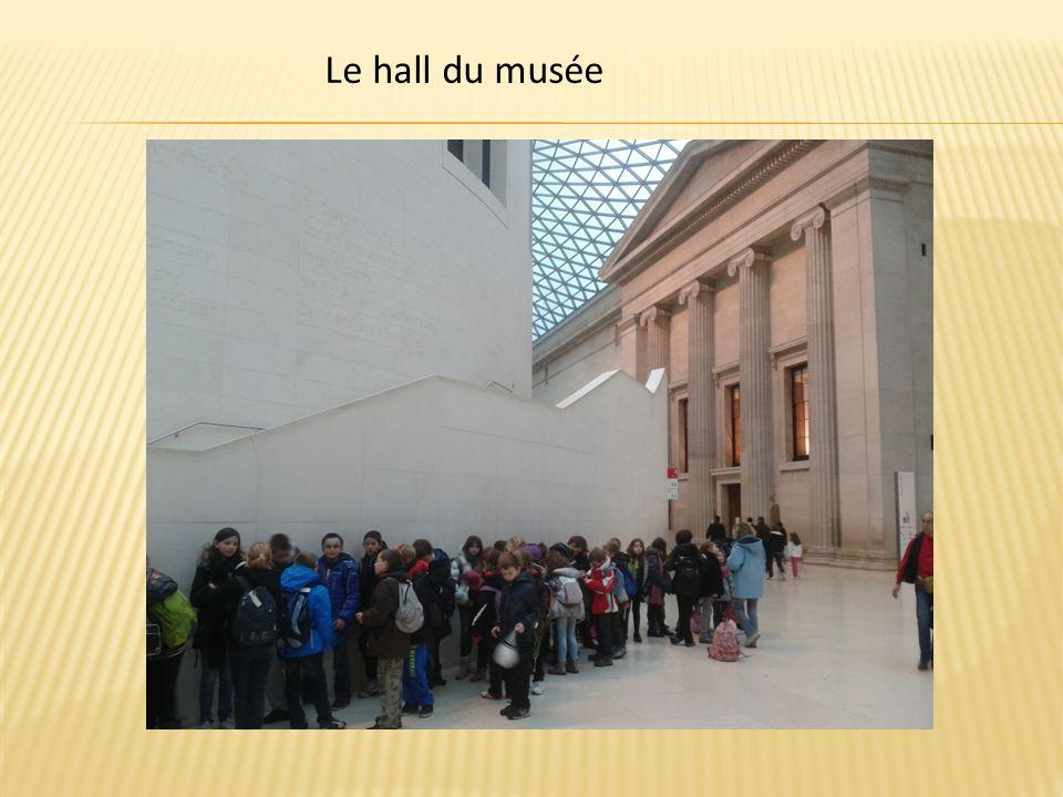 Le hall du musée