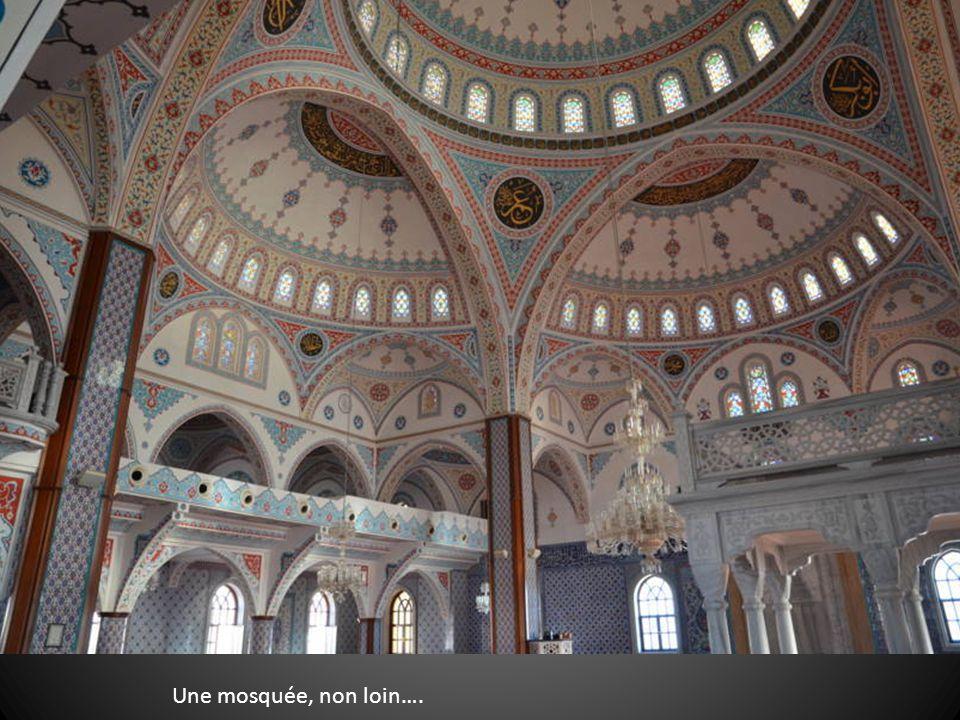 Une mosquée, non loin….