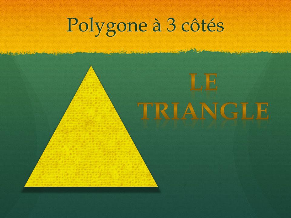 Polygone à 3 côtés