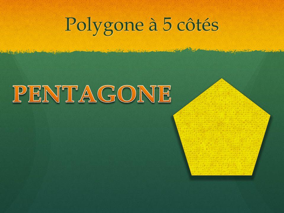 Polygone à 5 côtés