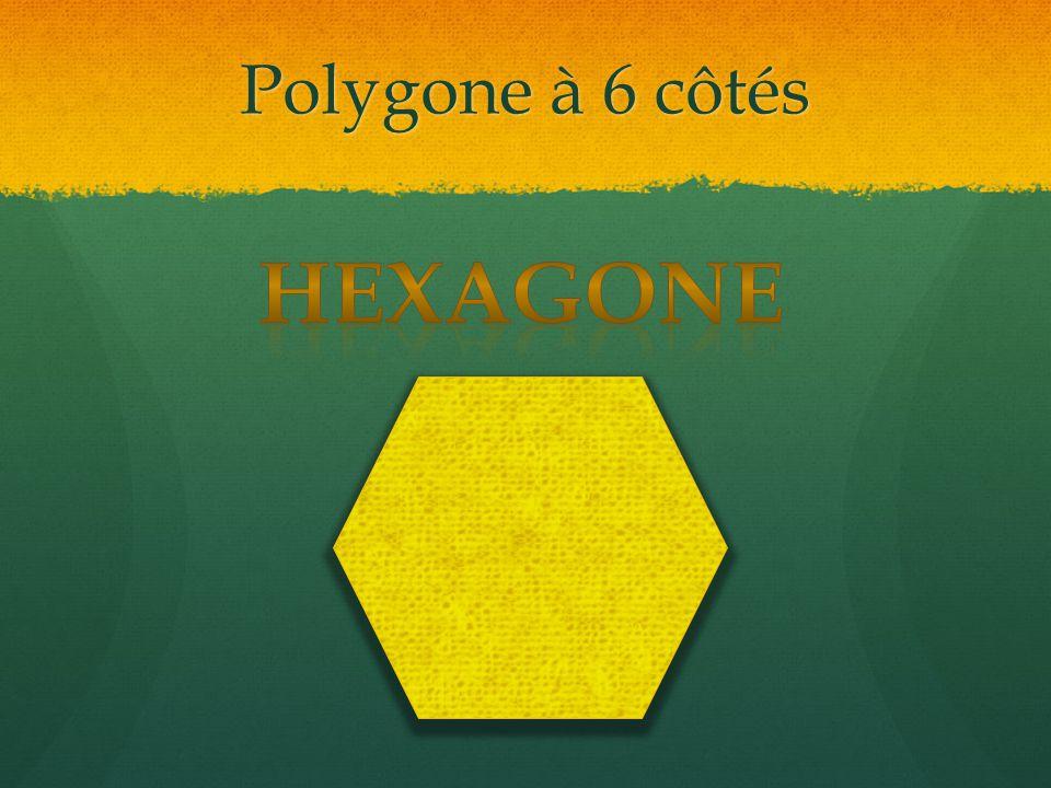 Polygone à 6 côtés