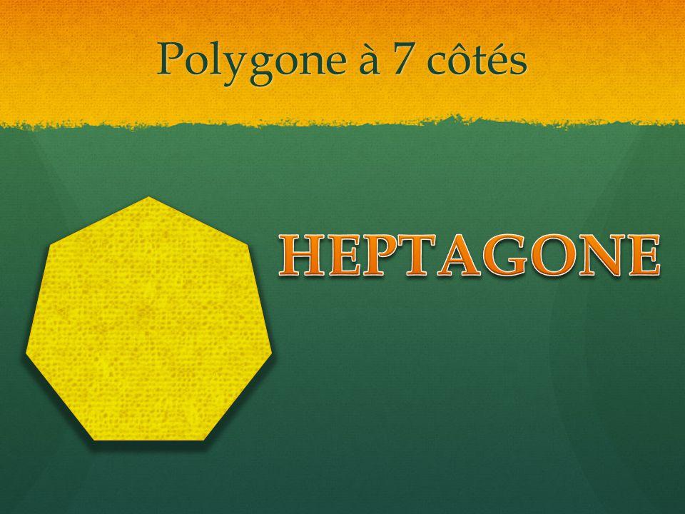 Polygone à 7 côtés