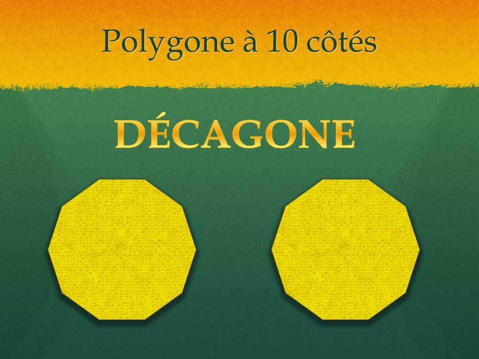 Polygone à 10 côtés