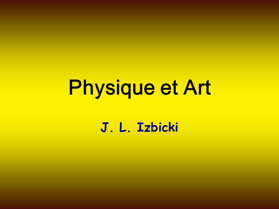 Plan Introduction : pourquoi physique et art .C'est quoi la couleur .