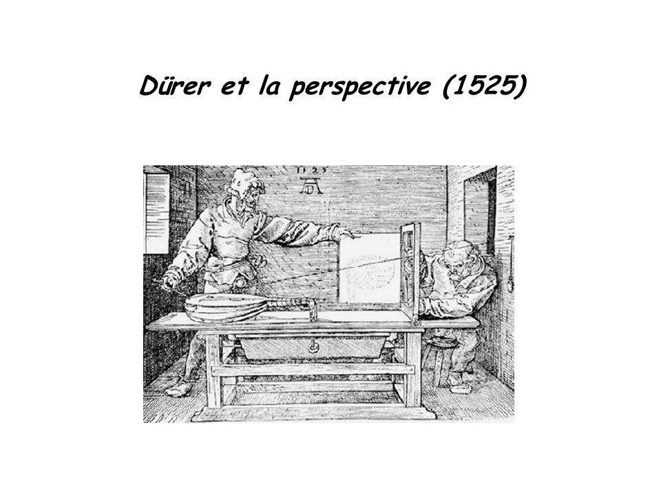 Dürer et la perspective (1525)