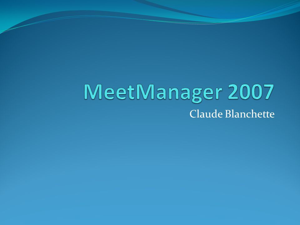 Claude Blanchette