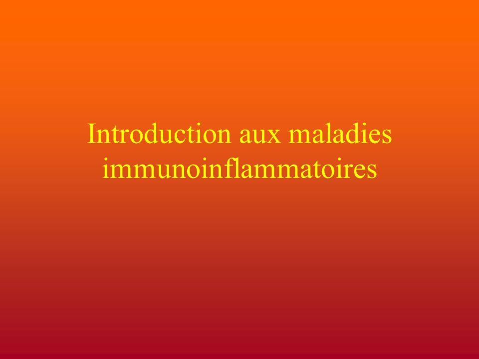 Introduction aux maladies immunoinflammatoires