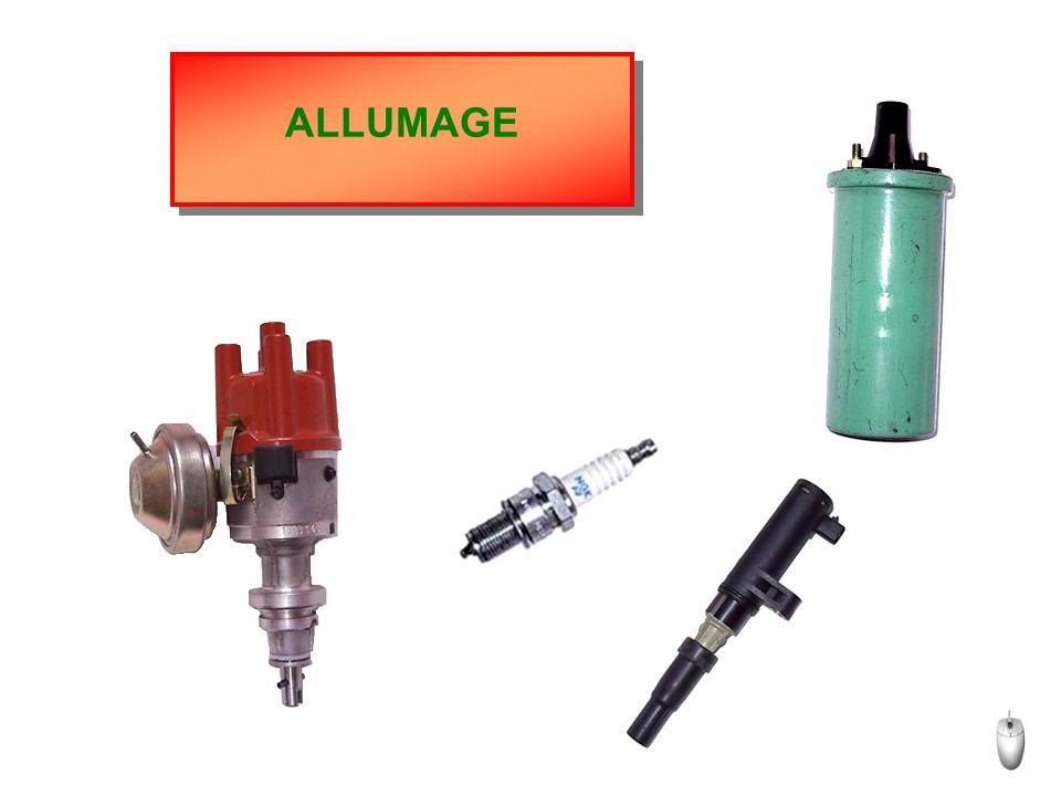 Allumage statique multibobines AUTRES SOLUTIONS TECHNOLOGIQUES Le distributeur est remplacé Le calculateur pilote les bobines par autant de bobines qu'il y a de cylindres (peut être utilisé pour les moteurs 3 ou 5 cylindres).