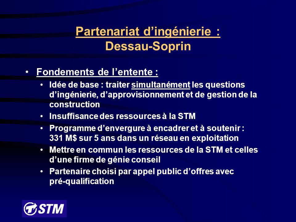 Problématique : Métro de Montréal en opération depuis 1966 Équipements fixes ont atteint leur durée de vie utile Le métro est un ensemble intégré (système) Dans ce contexte : La STM a mis sur pied un programme de maintien des équipements fixes nommé Réno-systèmes.