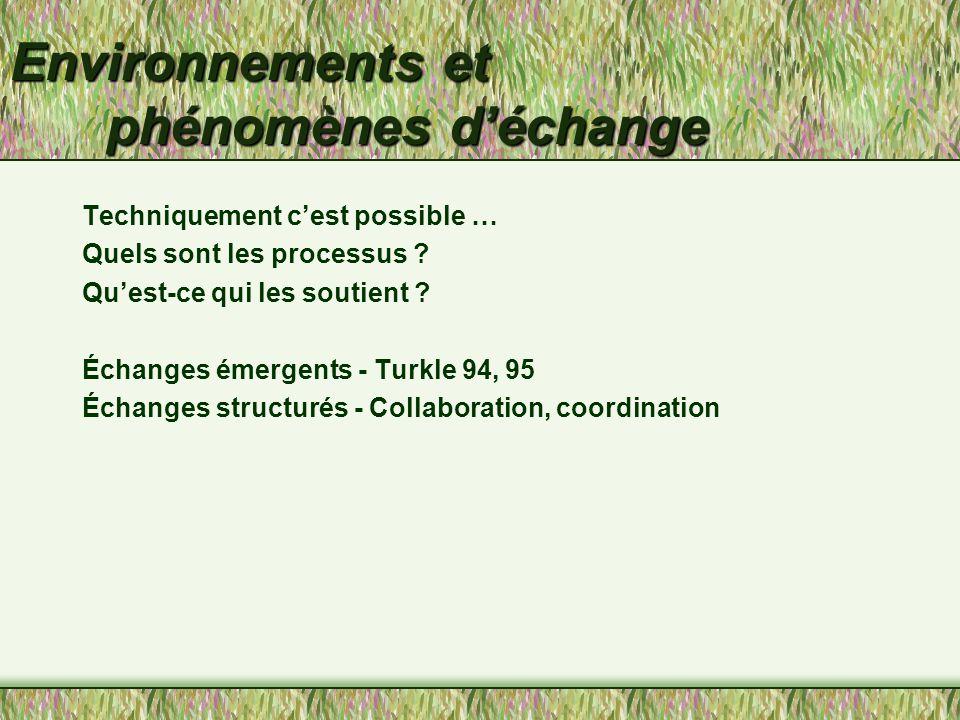 Systèmes d'échange, de collaboration et de coordination COM6535 Systèmes de communication informatisés Aude Dufresne