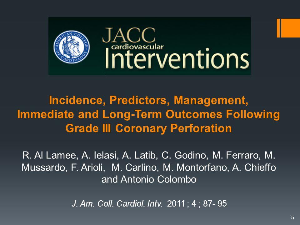 Caractéristiques cliniques ( % ) Al-Lamee et al.J.Am.Coll.Cardiol.Interv.