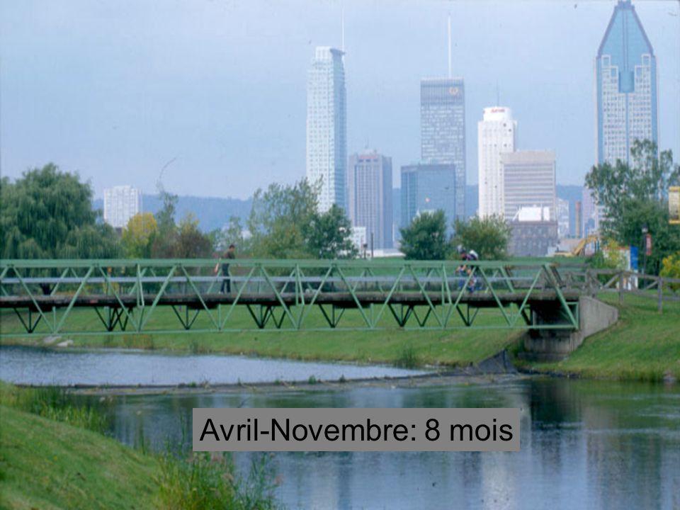 Avril-Novembre: 8 mois