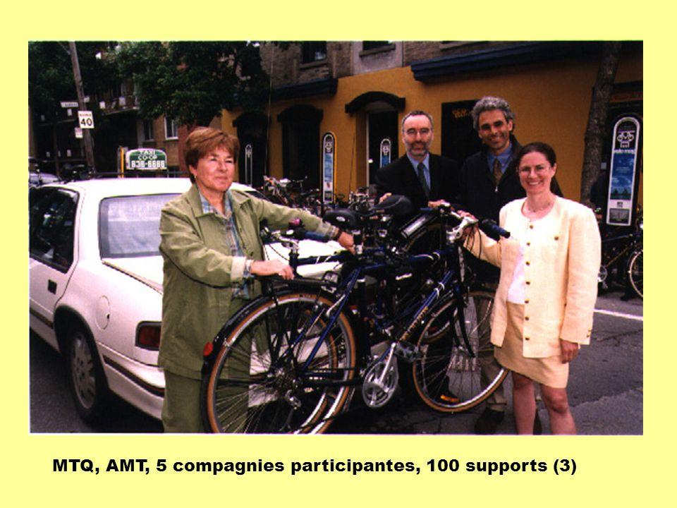 MTQ, AMT, 5 compagnies participantes, 100 supports (3)