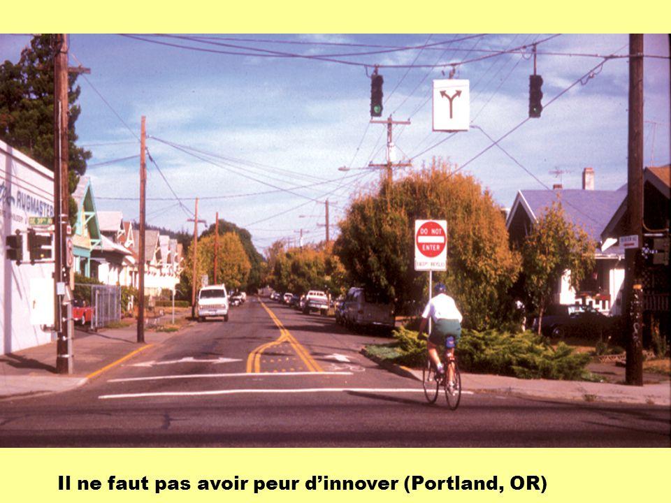 Il ne faut pas avoir peur d'innover (Portland, OR)