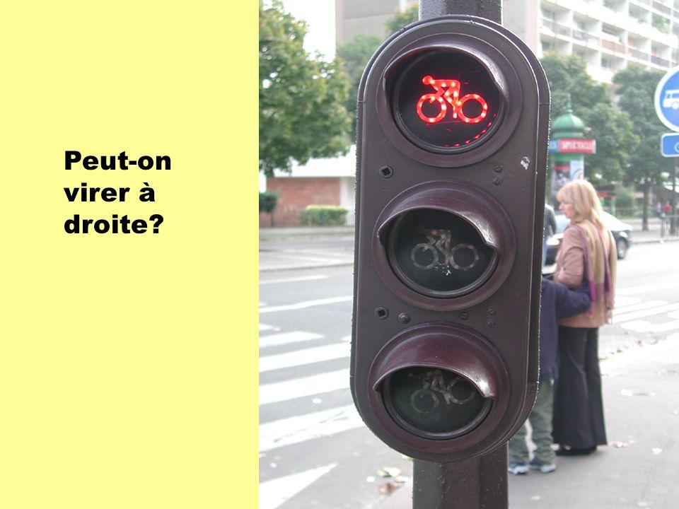 Peut-on virer à droite?