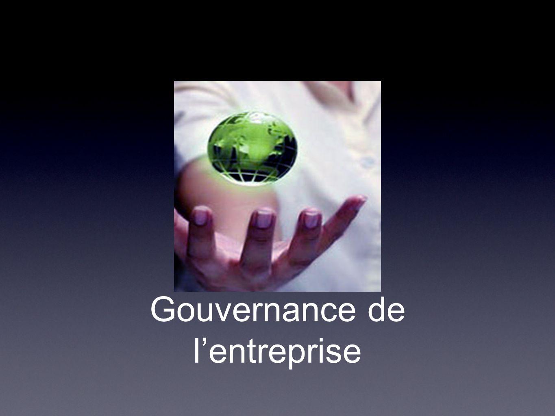 Gouvernance de l'entreprise