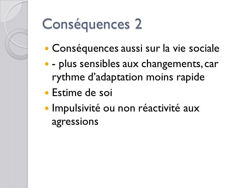 Conséquences sur l'inclusion Conséquences sur l'apprentissage: des modifications: des capacités de raisonnement, De la compréhension De la façon de mé