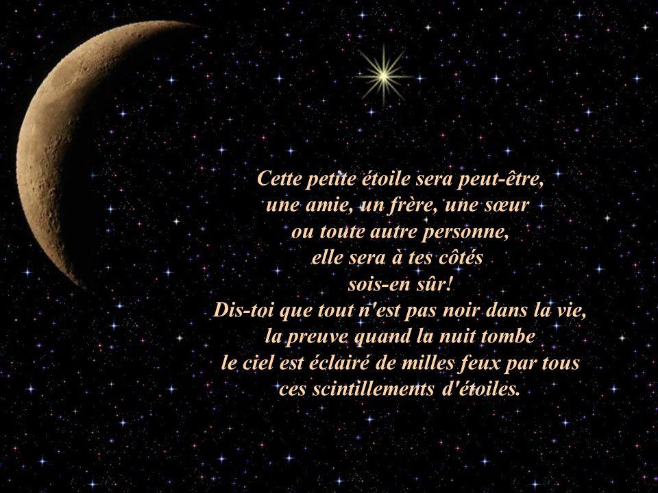 La petite étoile © copyright Ce texte appartient à Clara Vous pouvez lire ses magnifiques textes sur son site.
