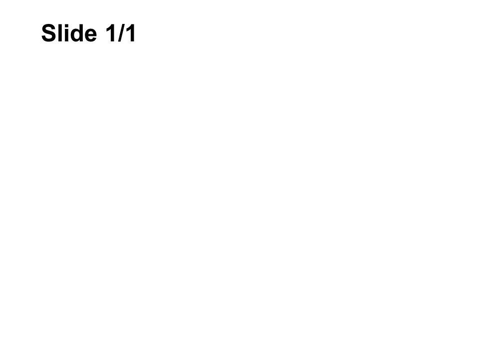 Slide 1/1