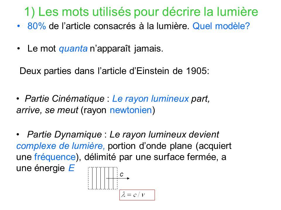 2) L'un des grands euphémismes de l'histoire des sciences .