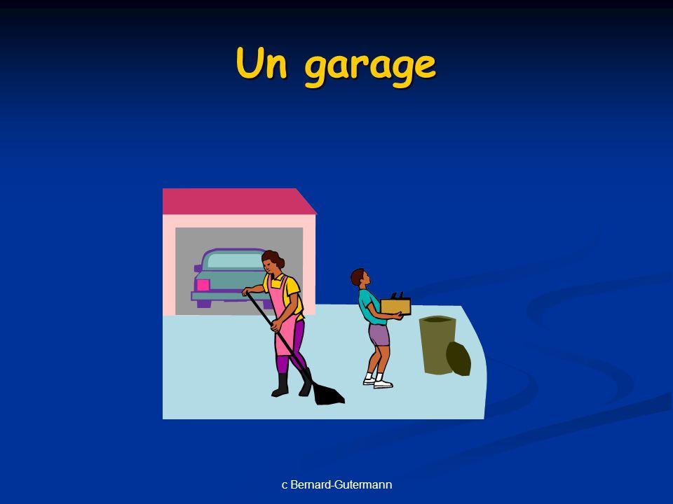 c Bernard-Gutermann Un garage
