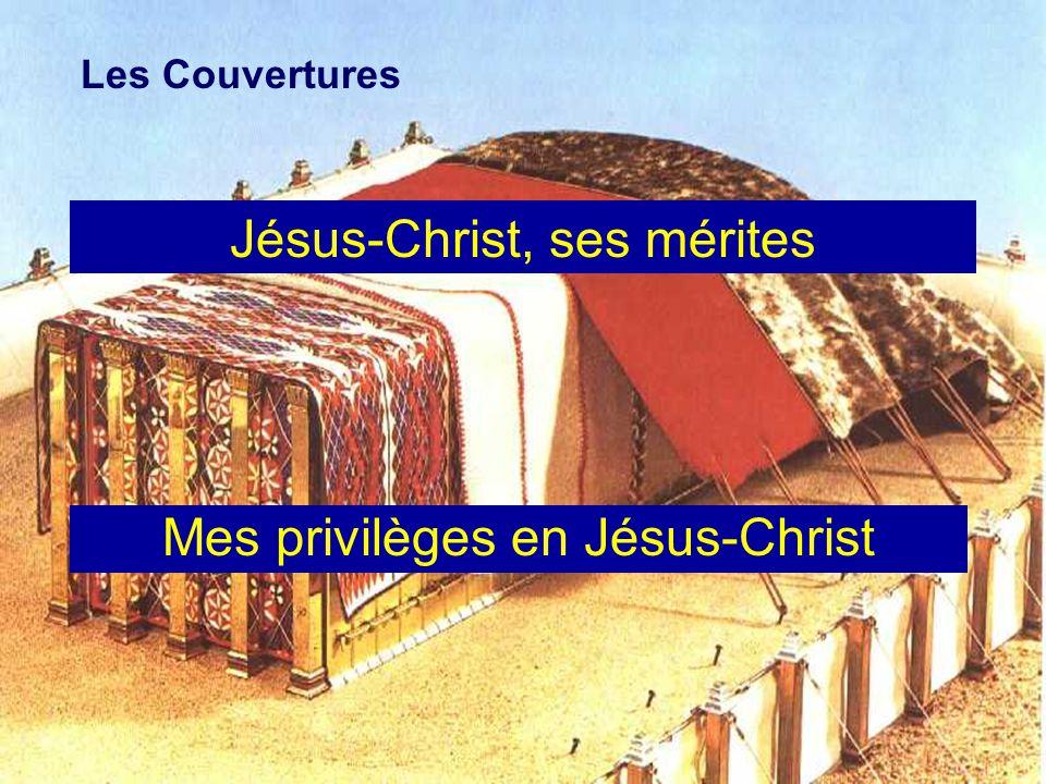 Les Couvertures Jésus-Christ, ses mérites Mes privilèges en Jésus-Christ
