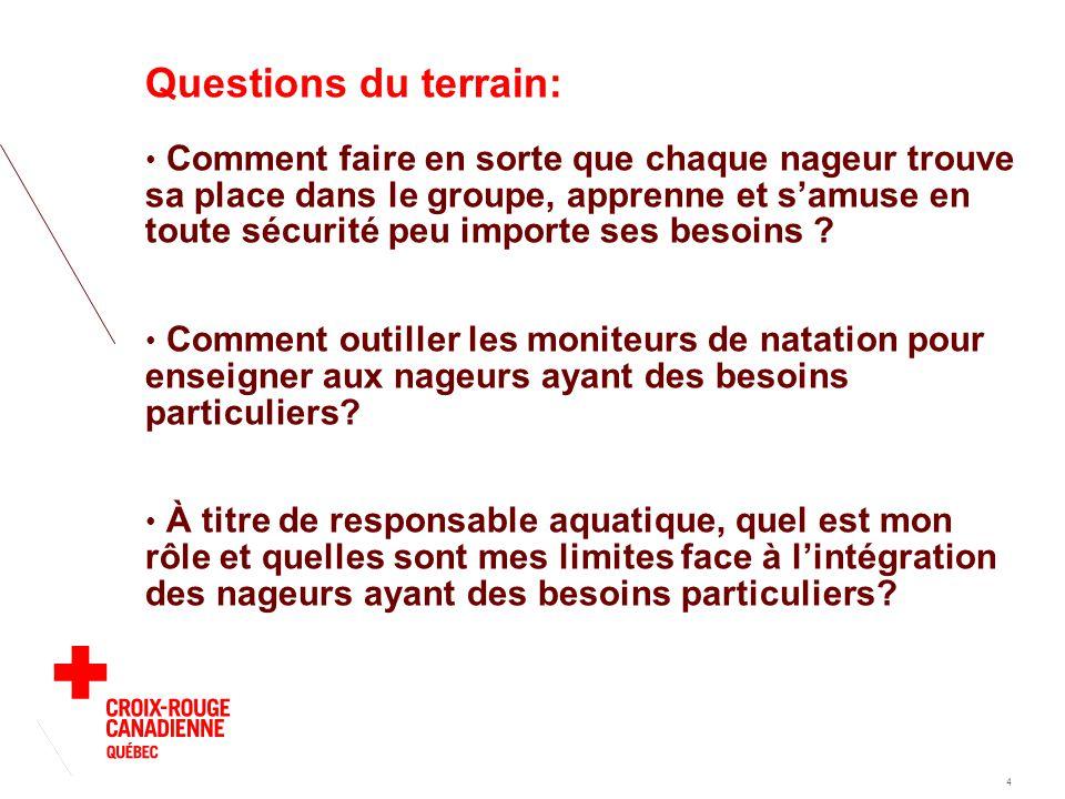 PROGRAMME DE FORMATION DES MONITEURS Au Québec 5 Maître-instructeur (11) Instructeur (175) Moniteur (5000) Assistant-moniteur (7000)
