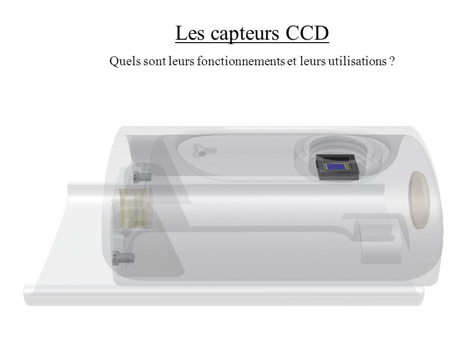Les capteurs CCD Quels sont leurs fonctionnements et leurs utilisations ?