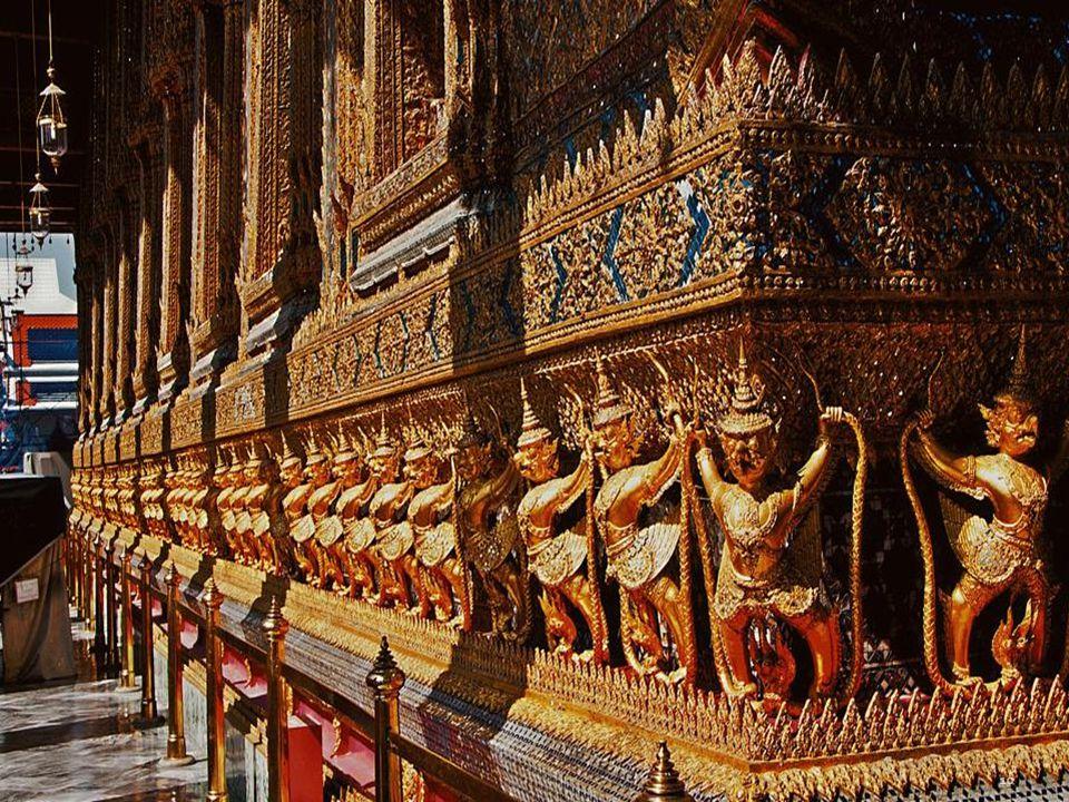 Bangkok Palais Royal les motifs de Wat Pho de globe-trotters. 9