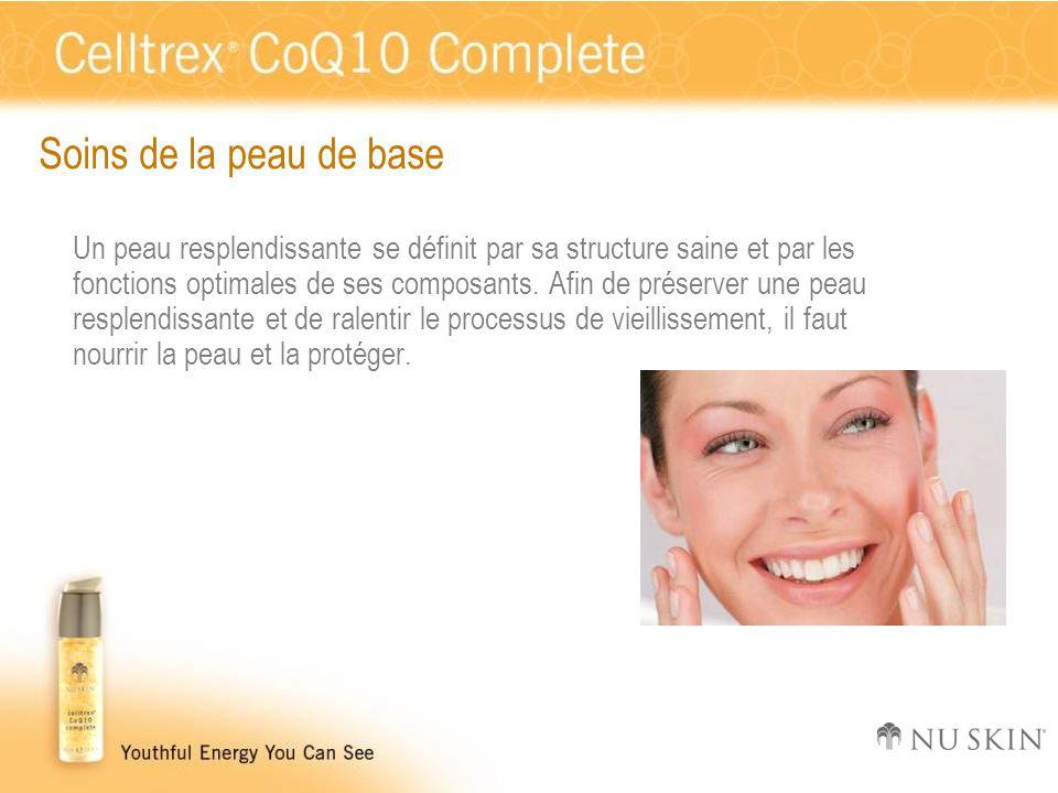 Soins de la peau de base Un peau resplendissante se définit par sa structure saine et par les fonctions optimales de ses composants. Afin de préserver