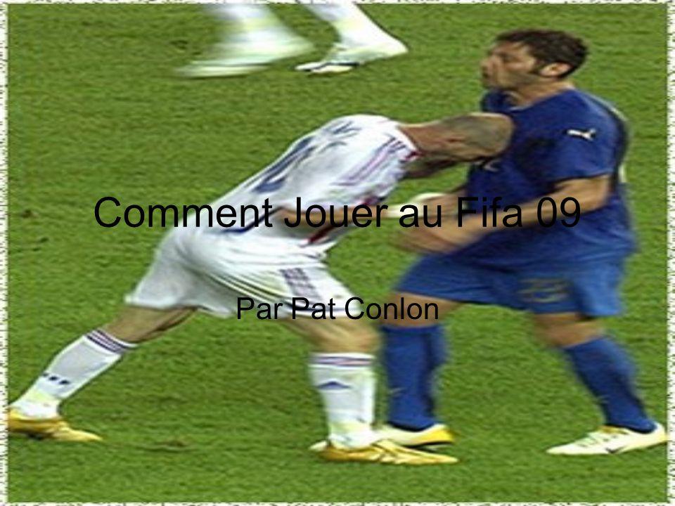 Le vocabulaire Appuyez sur- to push (a button) Tirer- to shoot (a ball) S'envoler- to fly Un tacle- a tackle Contrôleur de jeu- video game controller