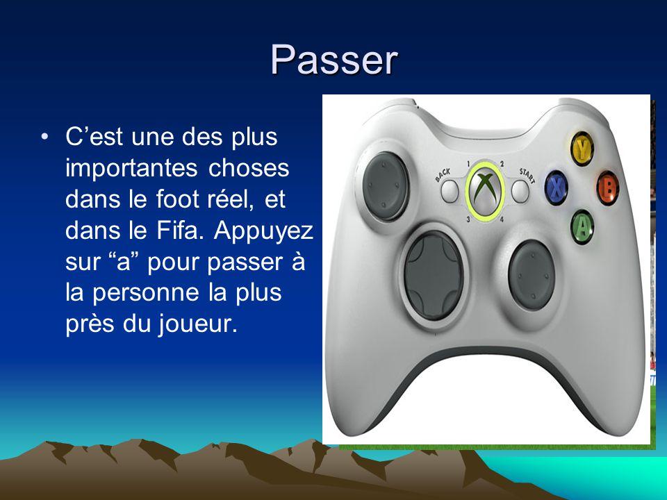 Passer C'est une des plus importantes choses dans le foot réel, et dans le Fifa.