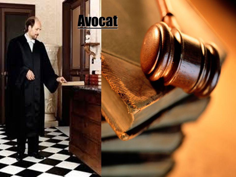 Principales tâches Informe le client de ses droits légaux et de toute question de nature juridique.