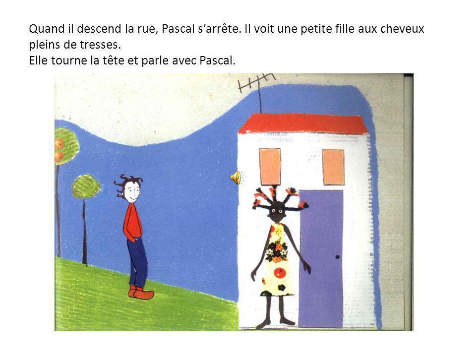 Entre temps, Pascal doit aider sa maman. La maman de Pascal a besoin de café pour le dîner et demande à son fils qu'il cherche un kilo au bas de la ru