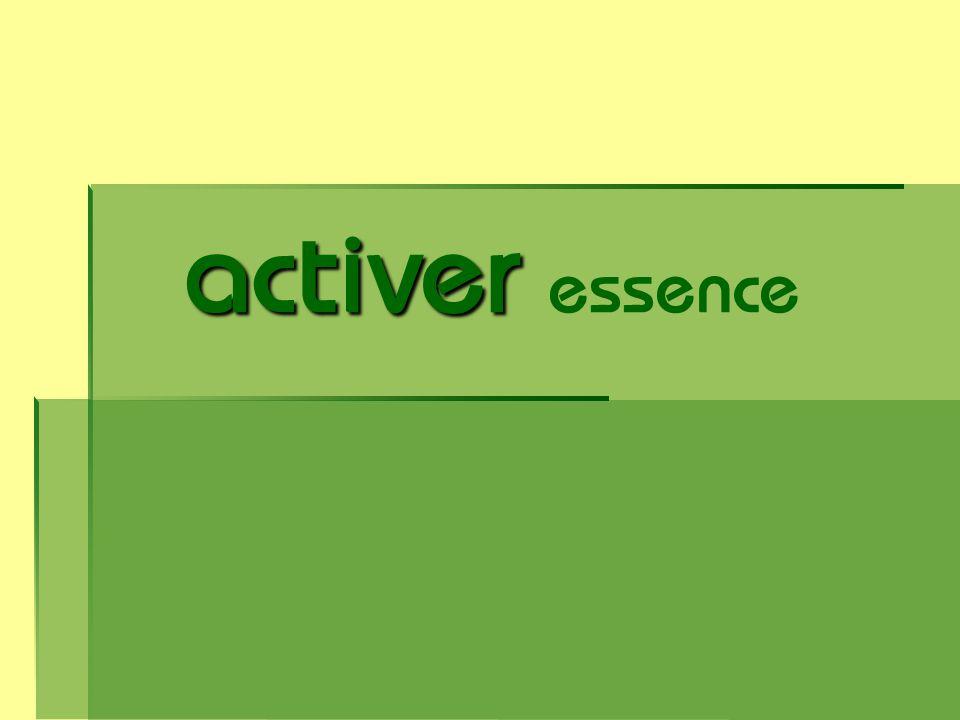 activer activer essence