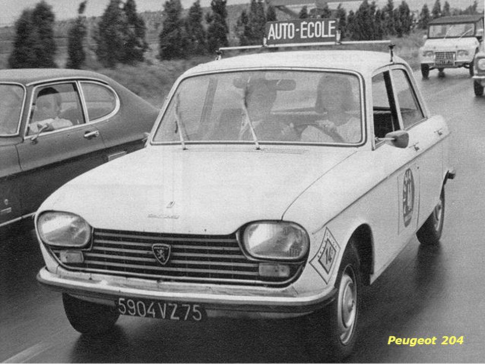 Simca 1000 Peugeot 404 Ami 6 R8
