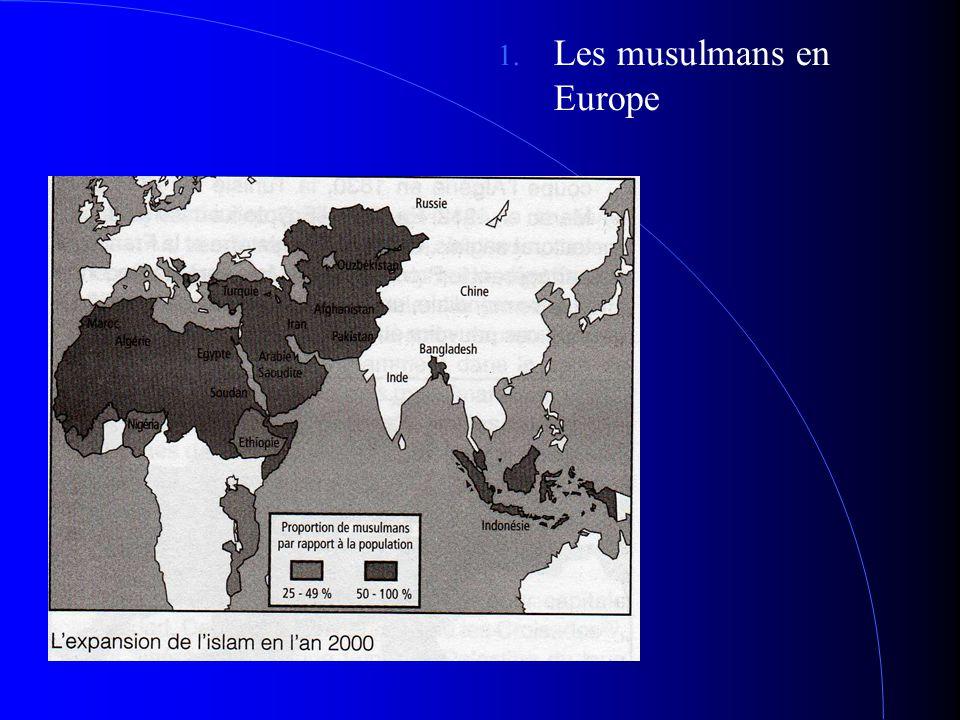 es musulmans en Europe