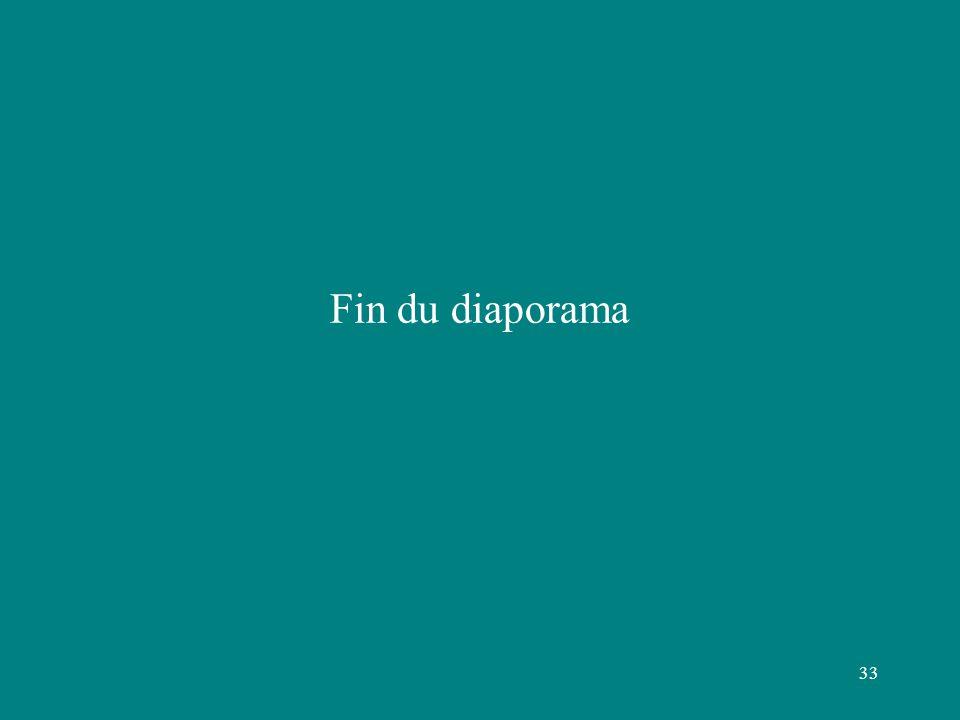 33 Fin du diaporama