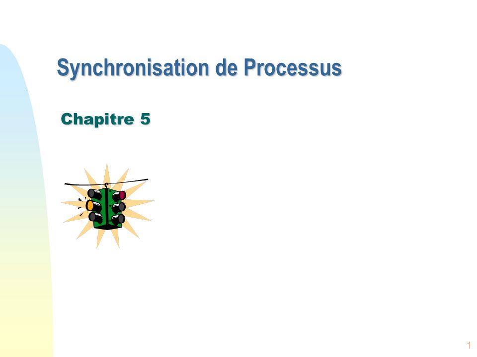 1 Synchronisation de Processus Chapitre 5
